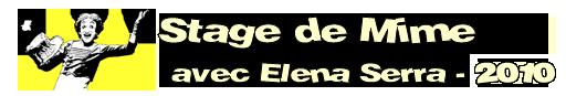 Stage de Mime - 2010