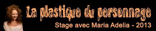 Stage La plastique du personnage 2013